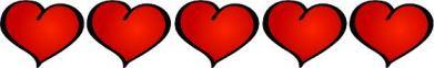 5 corações