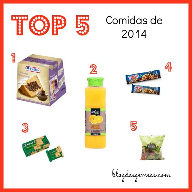 top 5 comidas